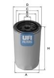 Filtre à huile UFI Référence: 2340400