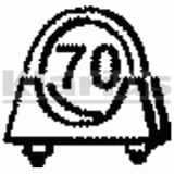 Collier echappement Klarius 430251