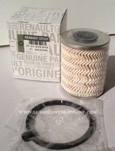 Filtre a huile Renault Ref 7700478972