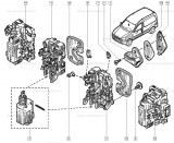 Gache de porte Renault 7700310536