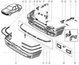 Enjoliveur de bouclier av Renault Ref 7700810504