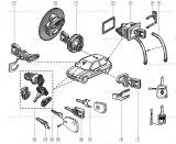 Bouchon de réservoir Renault Ref 7700829695