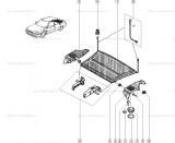 Axe planche AR Renault 7701203285