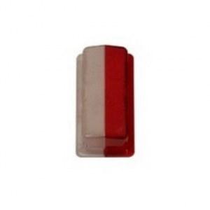 Cabochon cristal-rouge ML 502071
