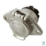 Socle métal 24V (N) 7 broches 8450310