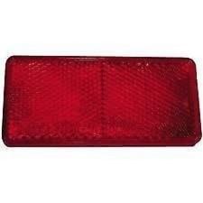 Catadioptre rouge adhésif 56 X 39 531062