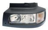 Optiques de phare pour véhicules utilitaires,poids lourds et engins de travaux publics